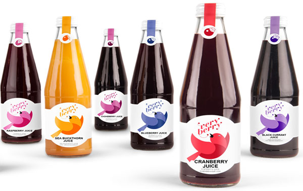 Very Berry přírodní šťávy a sirupy